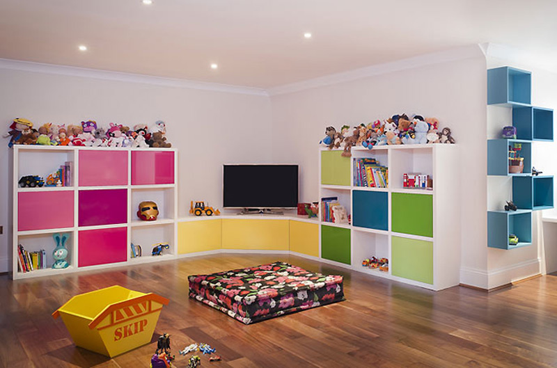 basement conversion kids room