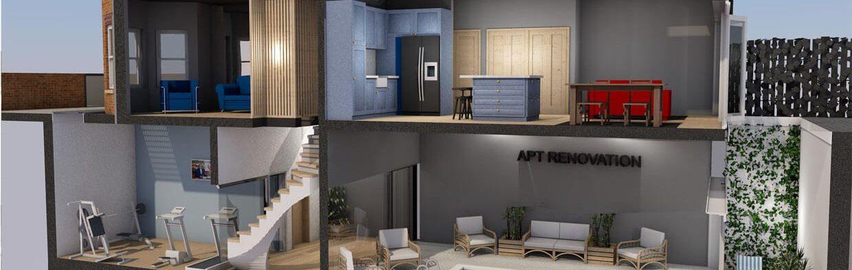 Design build company london apt renovation ltd for Design companies london