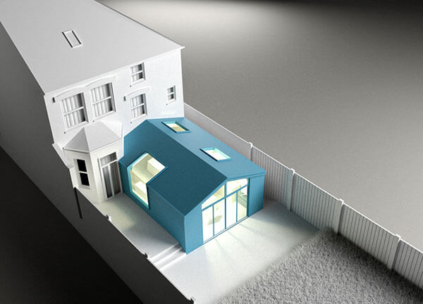 architectural designers able to create 3D architectural models