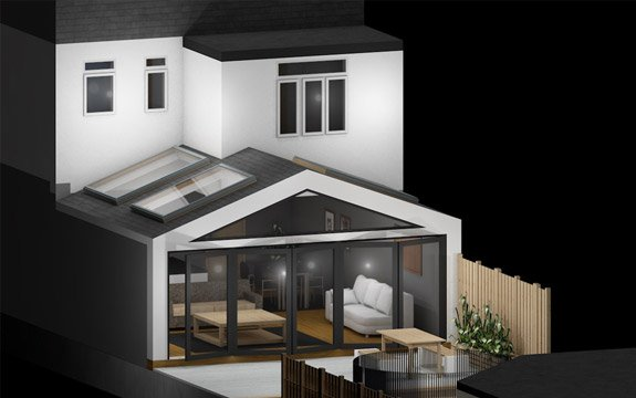extension architectural designers