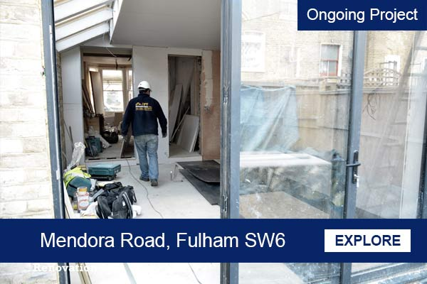 ongoing house extension project fulham sw6