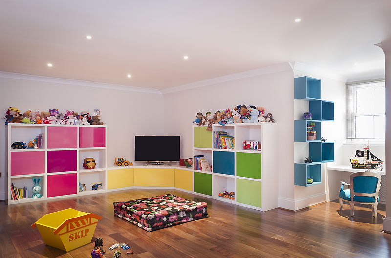 basement conversion kids playground london