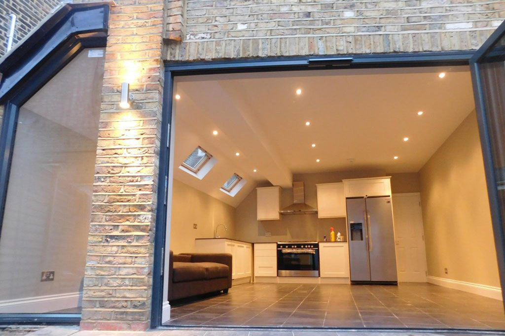kitchen house extension in london