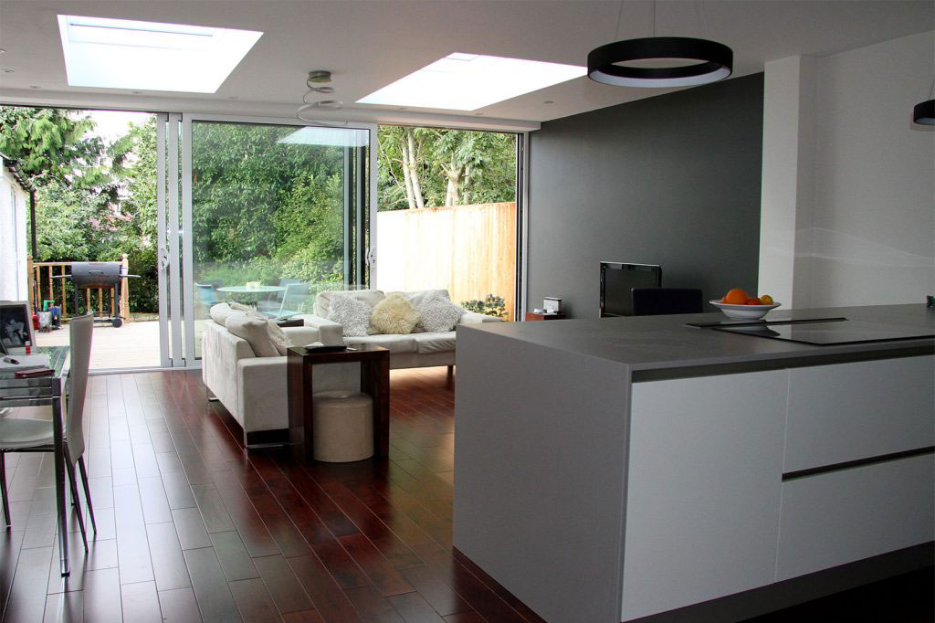 single rear house extension