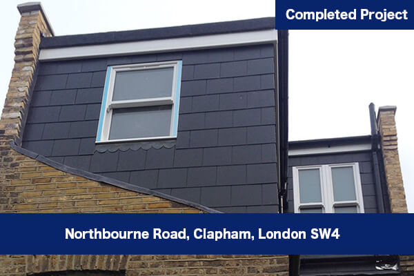 Spacious attic & loft conversion in Clapham