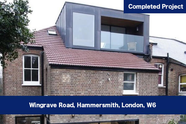 Kitchen and Loft Conversion in Hammersmith