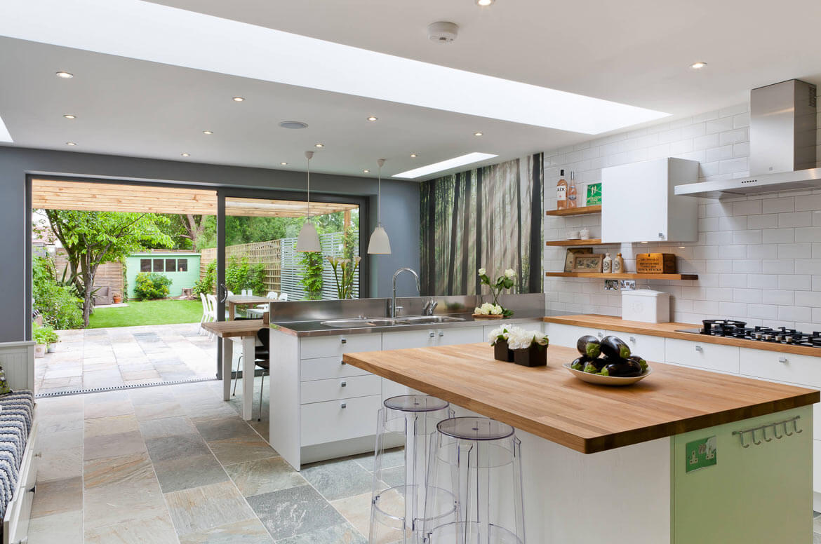 grey-kitchen-extension-builders