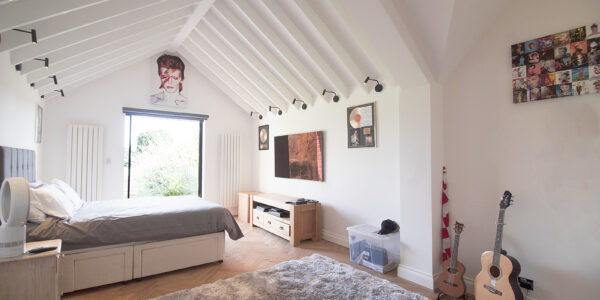 Fawley Lodge Bedroom 1