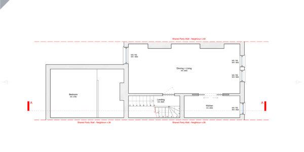 Garfield-Rd-Existing Second Floor