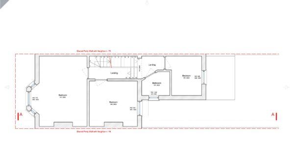 Valnay_Existing First Floor