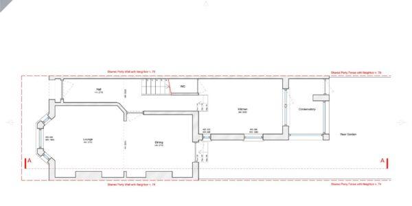 Valnay_Existing Ground Floor