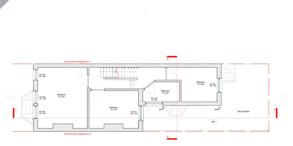Hereward-Existing First Floor