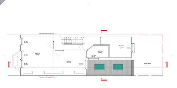 Hereward-Proposed First Floor