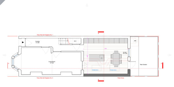 Hereward-Proposed Ground Floor
