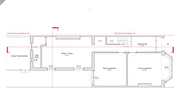 Idmiston-Existing Ground Floor