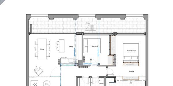 GA Floor plan